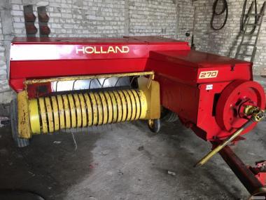 Пресс-подборщик тюковый New Holland 270 / тюкопрес, тюковалка