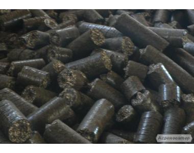 Пеллеты топливные (гранулы) из шелухи подсолнуха от производителя