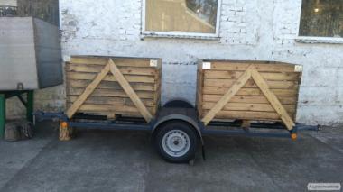 Тележка для транспортировки овощных контейнеров