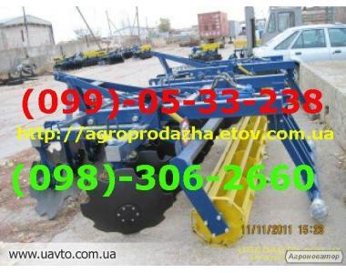 Борона тракторна АГД - 2,5Н(напівпричіпна)