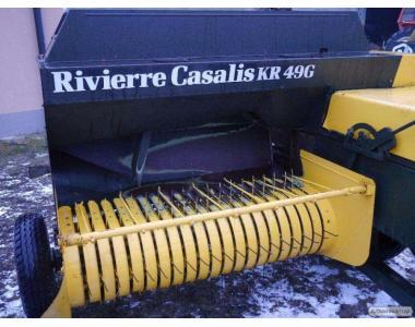 Пресс-подборщик / пресс подборщик Rivierre Casalis 49 / Тюкопрес 1.7 м.