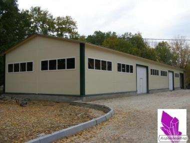 Строительство зданий, ангаров и складов из металлоконструкций