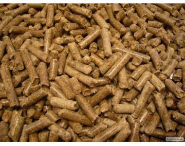 Пеллеты древесные (топливные гранулы)