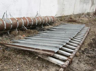 Подсолнечная приставка John Deere на жатку 6.1 метра (2000)