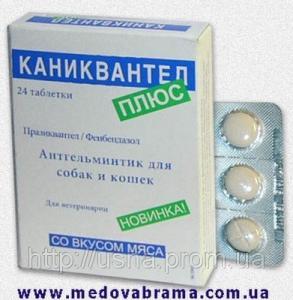Каниквантель Плюс, Haupt Pharma, Германия — антигельминтик широкого спектра действия