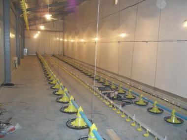 Обладнання для підлогового вирощування бройлерів ОПБ-2
