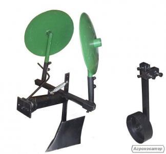 Картофелесажалка КП-1 оборотная с опорным колесом