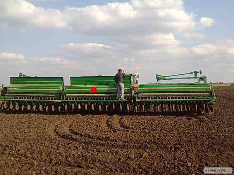 Продам зернову механічну сівалку Great Plains 3