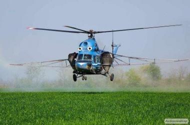 Услуги по опрыскиванию полей (всех видов,вся Украина)