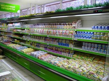 Горки холодильные Виолетта ВС15-130 (Регалы)