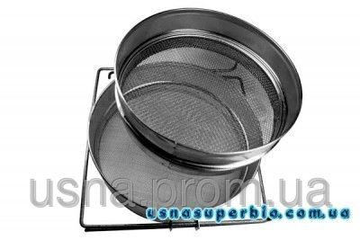 Фильтр для меда двухсекционный плоский (нержавейка)
