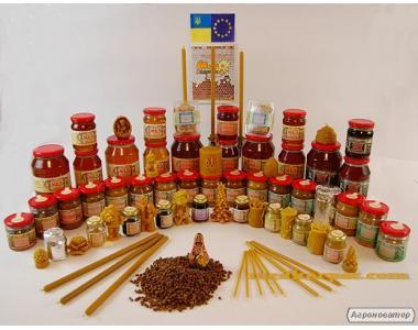 Натуральный пчелиный мед из Закарпатья