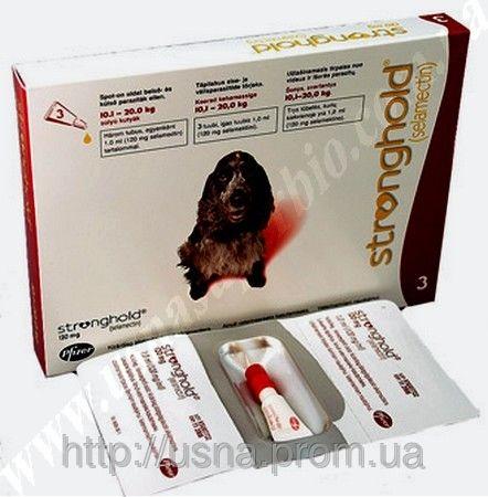 Стронгхолд для собак массой от 10,1 до 20 кг (1 пип.), Пфайзер, США