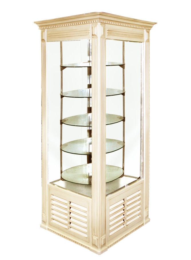 Холодильный шкаф ШХСДп(Д)-0,5 «АРКАНЗАС R» Стиль ПРОВАНС (кондитерский)