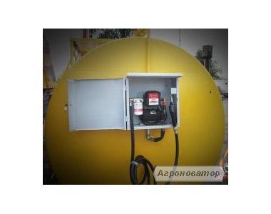 мобильная АЗС, топливный модуль