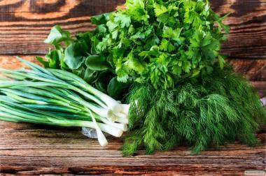 Продаж зелені петрушки, кропу , щавлю, кінзи, шпинату, цибулі і т д..