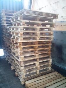 Продам дерев'яні палети б/у