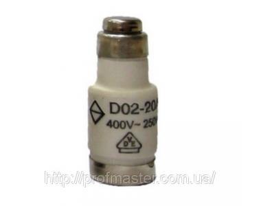 Запобіжник D0 серії D01, D02, D03