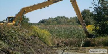 Очищення водойм, озер від замулення