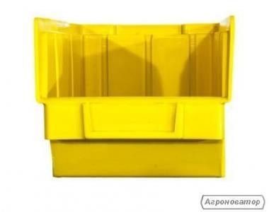 ящики для метизов  в Луцке желтый