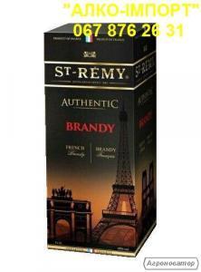 Оригінальний бренді St-Remy 2 L тетрапак, гуртом і в роздріб