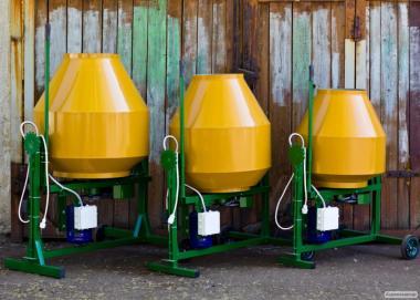 Гравітаційні бетонозмішувачі. Виробництво Україна
