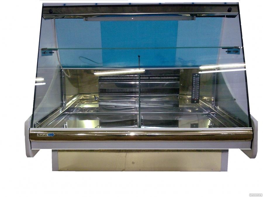 Настольная холодильная витрина 1м
