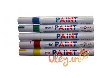 Набір маркерів 5 кольорів. Для мітки маток (білий, червоний, синій, зелений, жовтий)