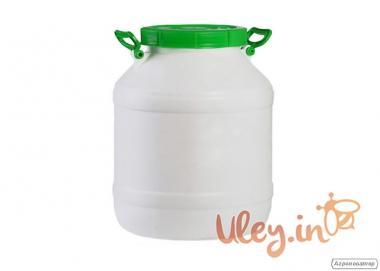 Бидон пищевой пластмассовый, 40 л. Горловина 220 мм. (сертифицированны)