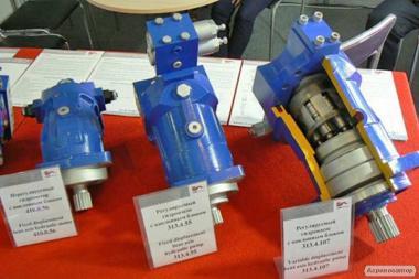 Гідронасоси, гідромотори всіх серій, гарантія 1 рік.