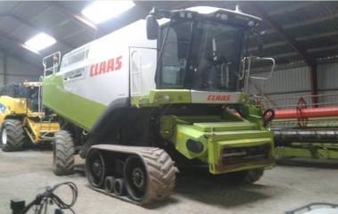 Комбайн Claas Lexion 580 Terra Trac (2007)