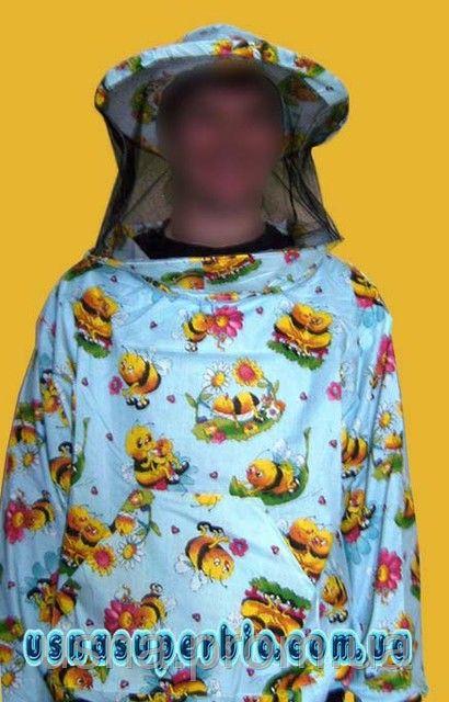 Куртка пчеловода ситцевая р.46-60
