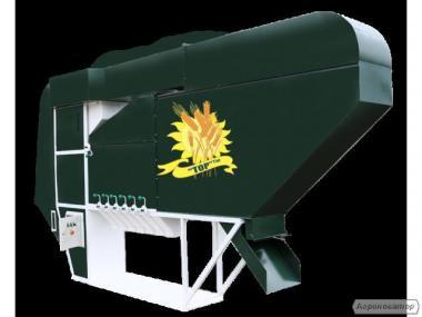 Безрешетный аэродинамический сепаратор ИСМ-30 ЦОК с аспирацией