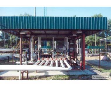 Будівництво та монтаж насосних станцій, операторних, складів, адміністративних та інших споруд