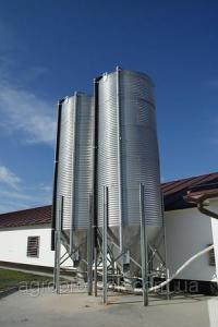 Бункер для кормів 25 т, 36 м3