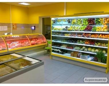 Магазин Продукти під ключ! Холодильні Вітрини, Гірки (регали), Бонет