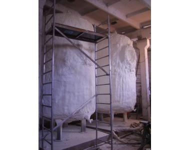 Панели ППУ для теплоизоляции разных зданий агрокомплекса.