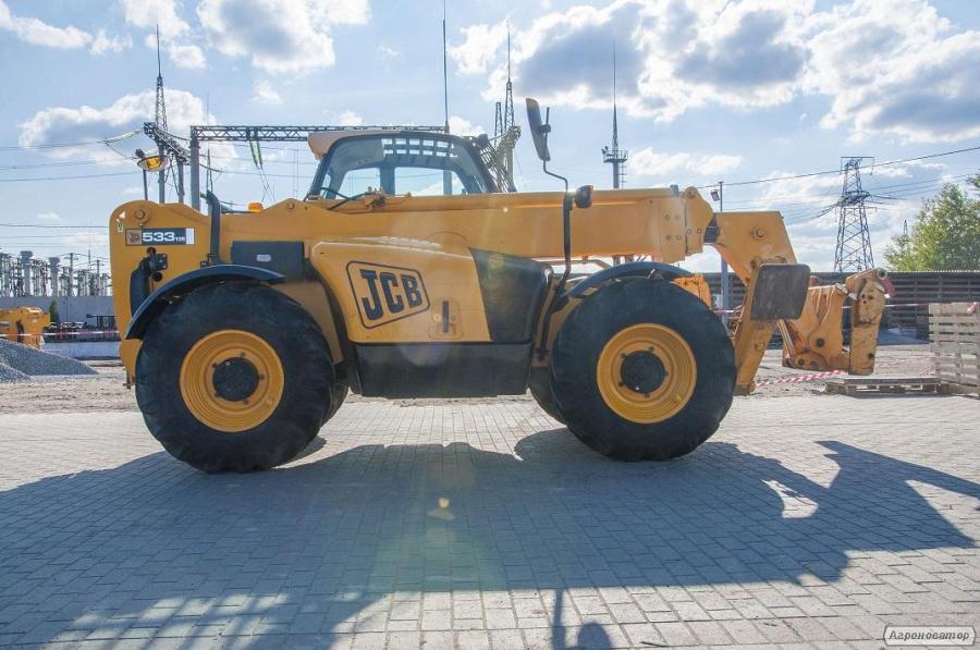 Навантажувач телескопічний JCB 533-105 (дизель)