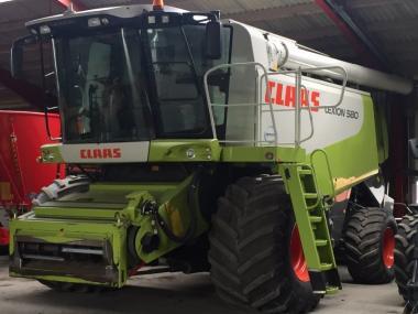 Комбайн Claas Lexion 580 (2009)