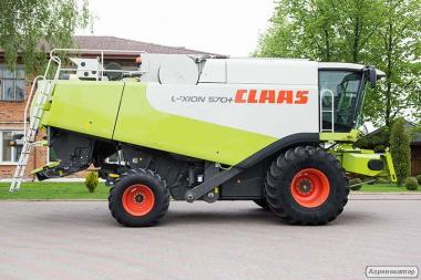Комбайн зернозбиральний Claas Lexion 570 Montana