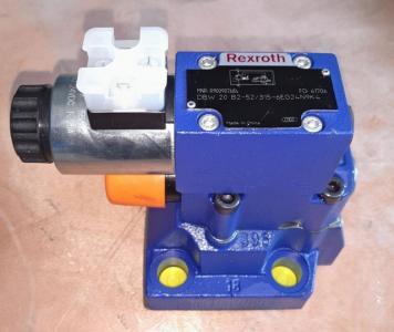 Електромагнітний клапан для скидання тиску з розвантаженням Duplomatic, клапан RQM *- P