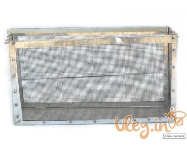 Изолятор сетчатый оцинкованный на улей типа «Рута» на 1 рамку