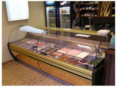 Холодильная витрина SGSP 1,0 1,2 1,5 1,8 2,0 Cold