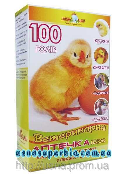 Ветеринарная аптечка для птиц Плюс (на 50 голов)