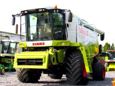 Комбайн Claas Lexion 600 (2010)