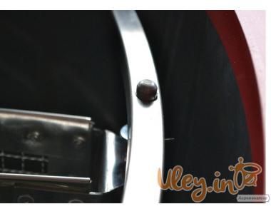 """8-мі рамкова Медогонка з поворотом касет під рамку """"РУТА"""", нержавіюча (ротор Н/Ж, з па"""