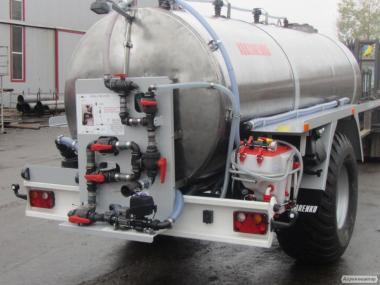 Прицеп-цистерна для смешивания и дозирования раствора РЗС-6
