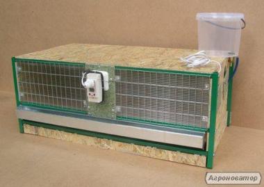 брудер (клетка) для выращивания цыплят от 1-х суток.