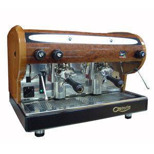Напівавтоматична кавова машина SMSA/2 LISA bw