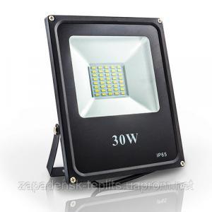 Світлодіодний прожектор LED 30Вт SMD 6400К 1650Лм, IP66